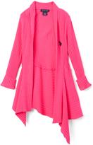 U.S. Polo Assn. Neon Pink Open Cardigan - Toddler