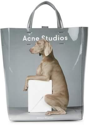 Acne Studios Baker Medium Printed PVC Tote