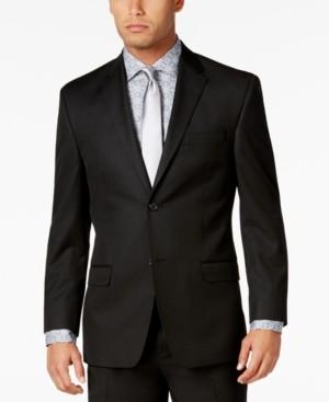 Sean John Men's Classic-Fit Black Solid Jacket