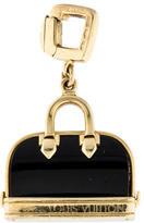 Louis Vuitton 18K Onyx Alma Bag Charm