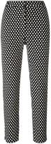 Christian Wijnants 'Palm' polka dots trousers - women - Cotton/Polyester/Spandex/Elastane/Viscose - 36