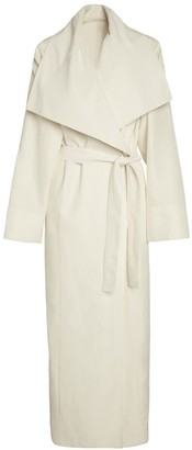 Lâcher Prise Apparel Exode Trench Coat White