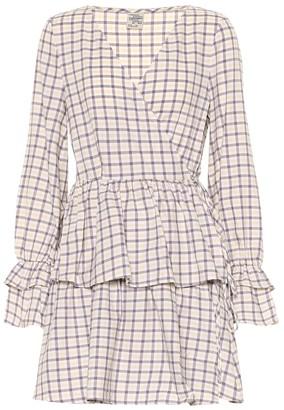 Baum und Pferdgarten Exclusive to Mytheresa a Ailin checked cotton minidress