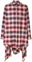 DSQUARED2 long plaid shirt