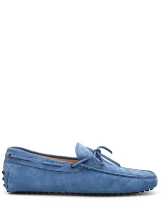 Tod's Classic Suede Loafers