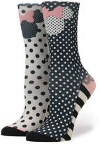 Disney Minnie Mouse Icon ''Sprinkled Minnie'' Socks for Kids by Stance