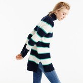 J.Crew Striped turtleneck in wool-cashmere
