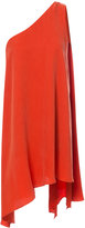 C/Meo one shoulder handkerchief hem dress - women - Polyester/Cupro - S