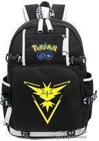 valoranshop Pokemon go Cartoon Bag Backpack Unisex School Shoulder Bag Laptop Bag