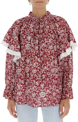 See by Chloe Floral Print Blouse