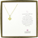 Dogeared You Are My North Star Open Star Boxed Reminder Necklace