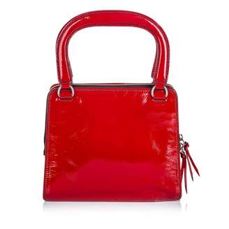Miu Miu Red Patent leather Handbags