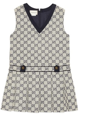 Gucci Children's GG canvas dress