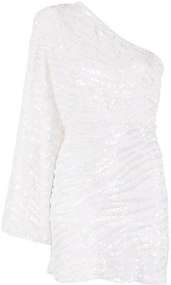 retrofete One-Shoulder Dress