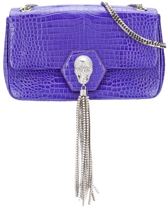 Philipp Plein Crystal-Skull Shoulder Bag