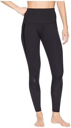 2XU Hi-Rise Compression Tights (Black/Nero) Women's Workout