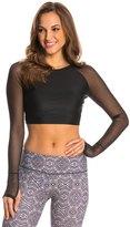 Jala Clothing Mesh Yoga Crop Top 8140642