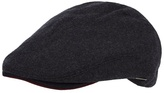 J By Jasper Conran Grey Wool Blend Flat Cap