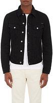 Nudie Jeans Men's Billy Distressed Denim Jacket-BLACK