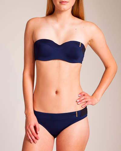 Valery Huit Swimwear Gaby Strapless Bikini