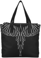 Marcelo Burlon County of Milan Asier shopping bag - men - Cotton/Leather/Nylon - One Size