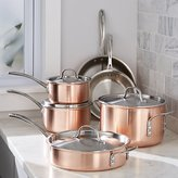 Crate & Barrel Calphalon Tri-Ply Copper 10-Piece Cookware Set