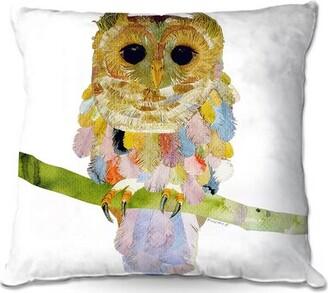 """Nava Couch Owl Throw Pillow Winston Porter Size: 16"""" x 16"""""""