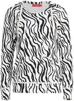 n:philanthropy Sicily Zebra Print Hoodie