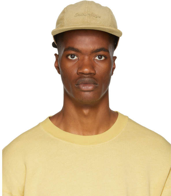 Saturdays NYC Khaki Corduroy Russel Cap