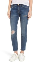 Current/Elliott Women's The Stiletto Destroyed Skinny Jeans