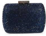 Serpui Marie Montana Blue Minaudiere Clutch Handbag $238 90079430