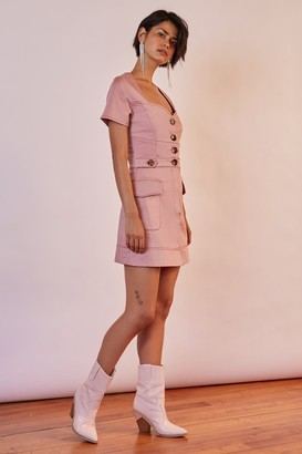 Finders Keepers VENICE MINI DRESS pink