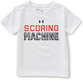 Under Armour Little Boys 2T-7 Scoring Machine Short-Sleeve Graphic Tee