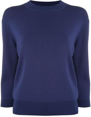 Le Ciel Bleu Three-Quarter Length Sleeve Top