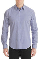 Theory Sylvain Amicable Gingham Shirt