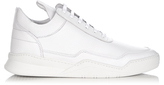 Filling Pieces Low-top grained-leather trainers