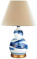 Bunny Williams Home Brush Stroke Small Lamp - Blue And White