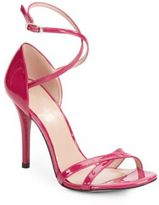 Stuart Weitzman Livia Patent Leather Sandals