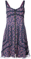 Anna Sui floral print swing dress