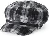 Apt. 9 Women's Plaid Newsboy Hat
