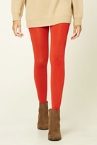 Forever 21 FOREVER 21+ Classic Stirrup Tights