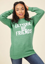 ModCloth Break the Iceberg Pullover in M