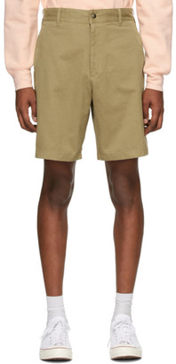 Noah NYC Khaki Military Shorts