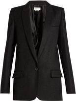 Etoile Isabel Marant Igor single-breasted wool-blend jacket