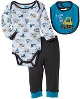 Bon Bebe I Dig It Bodysuit Set (Baby)-Multicolor-3-6 Months