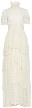 Jiri Kalfar Creme Maxi Dress With Lace