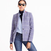 J.Crew Regent blazer in purple houndstooth