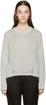 Acne Studios Grey Knit Phora Sweater