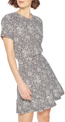 Parker Burke Printed Short-Sleeve Tee Dress
