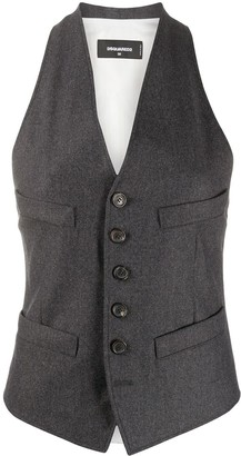 DSQUARED2 Fitted Waistcoat